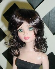 """Doll Wig, Monique Gold """"Melissa"""" Size 5/6 NEARLY BLACK"""