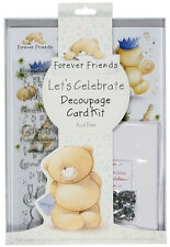 Docrafts Decoupage & Card kit Forever Friends Let's Celebrate Party FFS1691003