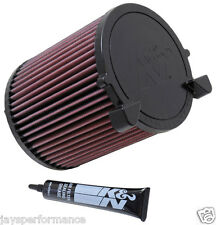 E-2014 K&N SPORTS PERFORMANCE AIR FILTER FOR AUDI A3 (8P) 1.2/1.4/1.6