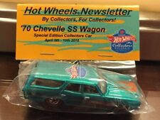 Hot Wheels 16th Nationals Convention 2016 Newsletter Car - '70 Chevelle SS Wagon