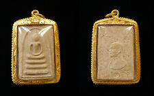 ThaiBuddha-Amulets #140: Phra Somdej LP Pae Song Phan 2nd batch, 1st Place Cert