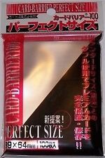 100 PERFECT SIZE Deck Protectors KMC Perfect Fit MTG MAGIC