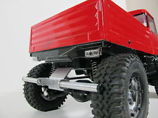 Rear Aluminum Lower Bumper Guard for Tamiya RC 1/10 CC01 Chassis Jeep Unimog