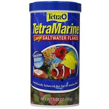 Tetra 16249 TetraMarine Marine Flakes, Formulated for Saltwater Fish, 5.65-Ounce