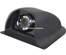 CCD ALL POSITION SIDE MOUNT IR WIDE ANGLE 120 DEGREE REAR VIEW BACKUP CAMERA