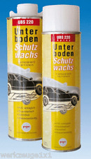 1x UBS 220 Cera di protezione sottoscocca barattolo standard da 1 litro