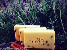 Handmade Cold Process 72% Olive Marseille Soap (Rosemary Lavender)