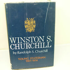 THE NICKEL STORE: WINSTON S. CHURCHILL. YOUNG STATESMAN 1901-1914 (1967) (B21)