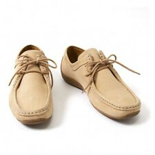 Clarks leather wallaby shoes Size About 5.5(K-24771)