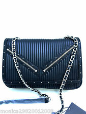 ZARA BLACK CROSS BODY BAG HANDBAG CITY BAG NEW