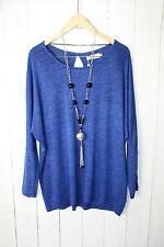 ZIZZI  Leichte Damen Pullover  Gr M   Daphne Blue  Neu