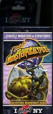 Monsterpocalypse I Chomp NY Series 2 Monsters and Structures Booster Pack MINT