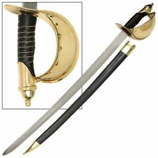 Civil War U.S 1860 Naval Cutlass Military Reproduction Sabre Sword