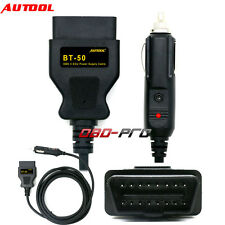 AUTOOL BT50 Car OBD2 ECU Emergency Lighter Power Cigarette Cable Battery Tool