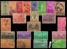 India Pre 1956 Period-22 Different Anna Series use Large Stamps-Old & Scare