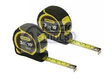 STANLEY 3M TYLON RIVESTITO misura sta130686 3 metri 10PD 1-30-686 Twin Pack!