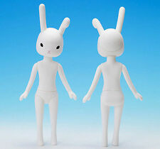 Petworks Usagii 001 Normal Face White Rabbit Black Eyes Bunny Nude
