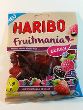 HARIBO BERRY FRUITMANIA - CANDY WINE GUMS 6oz - 175g - MADE IN GERMANY -