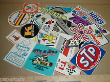 Vintage Small-Md Hot Rod Auto Drag Racing Decal Sticker Lot 20 Grab Bag Tool Box
