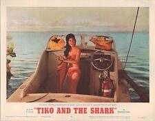 Tiko and the Shark 1963 11x14 Lobby Card #6