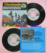 LP 45 7'' BARRABAS Checkmate Mellow Blow 1975 germany ARIOLA 16 383 cd mc dvd