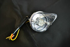ROUND POINTY LED MOTORCYCLE STOP / TAIL LIGHT FOR CAFE RACER / BRAT STYLE BIKES