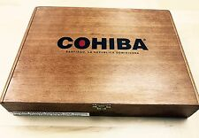 Cohiba Red Dot - Solid Wood Empty Cigar Box