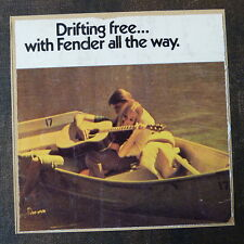 "Pop-kard feat. FENDER ad [ ANNI'70 ], 6x6 ""greeting card AAE"