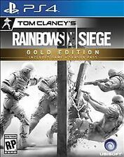 Rainbow Six: Siege -- PS4 (Sony PlayStation 4, 2015) Primary acc, no disc