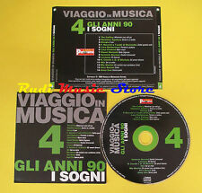 CD VIAGGIO IN MUSICA 4 compilation PROMO 04 AGUILERA GIORGIA BERSANI (C4*) no mc