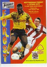 Nottingham Forest v Stoke City 1995/96 FA Cup 3rd round replay
