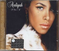 AALIYAH - I care 4 u - CD 2002 NEAR MINT CONDITION