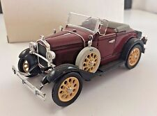 DIE-CAST 1931 RED FORD MODEL A ROADSTER by NATIONAL MOTOR MUSEUM MINT WBOX