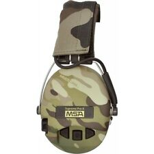 MSA SORDIN SUPREME PRO X  MULTICAM CUPS  WITH GEL SEALS and LED LIGHT