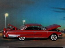 1960 60 FORD GALAXIE STARLINER 1/64 SCALE COLLECTIBLE DIECAST MODEL - DIORAMA