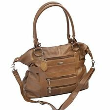 Ladies Large Leather Tote Bag/Handbag/Shopper with Detachable Shoulder Strap