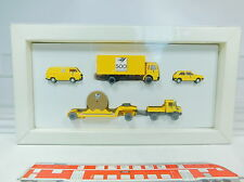 AU841-0,5# Wiking H0 Set 500 Anni Posta: CAMION DELL'UOMO+Volkswagen/VW Golf
