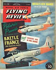 RAF FLYING REVIEW JUN 60: BOUNDER/ JET PROVOST/ POLARIS/ D520 CUTAWAY/MS 406