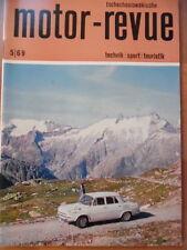 Tschechoslowakische MOTOR REVUE  5 - 1969 ** Skoda Rallye JAWA Gorno Altai