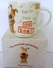 """""""BOOFLE"""" CHINA MUG """"YOU'RE MY CUP OF TEA! XXX"""" GIFT BOXED GREAT BIRTHDAY GIFT"""