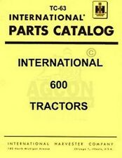 International 600 650 Gas Diesel Part Catalog Manual IH