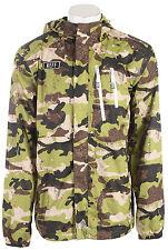 New 2014 Neff Mens Tactical Snowboard Poncho Jacket Large Camo