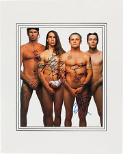 RED HOT CHILI PEPPERS - SIGNED 10X8 PHOTO GREAT STUDIO IMAGE, LOOKS GREAT FRAMED