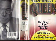 Alex Haley's Queen 1st edition library copy.