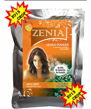 BUY 4 GET 1 FREE 100g ZENIA Henna Powder TRIPLE SIFTED Body Art Quality NO PPD