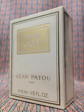 Vintage early 1980s JOY Jean Patou SEALED 1/5 oz 6 ml Pure Parfum OLD FORMULA