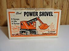 MARX TOYS 1960'S NO 1782-STEEL POWER STEAM SHOVEL ORIGINAL RETAIL BOX