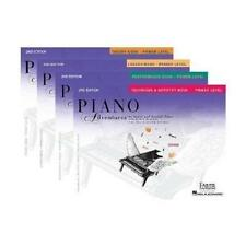 FABER PIANO ADVENTURES PRIMER LEVEL LESSON PERFORMANCE TECHNIQUE THEORY PACK SET