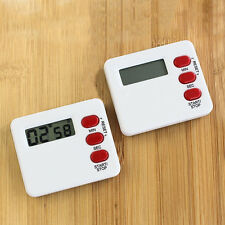 Useful Timer Countdown Sport Study Rest Digital 99 Minute LCD Kitchen Clocki New