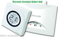 SALUS ST620WBC WORCESTER COMBI BOILER WIRELESS THERMOSTAT RF ROOM STAT PLUG IN